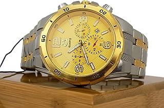 Relógio Masculino Orizom Spaceman 100% Original A Prova D'água (Dourado)