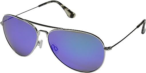Silver/Blue Hawaii