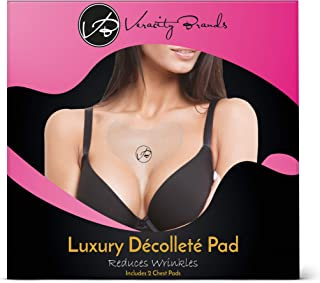 2 PACK of Luxury & Highest Quality- Chest Wrinkle Pads, Decollete Anti Wrinkle Chest Pads, 2- Silicone Wrinkle Pads, Silicone Chest Wrinkle Pads, Anti Wrinkle Chest Pads, Chest Wrinkle Pads
