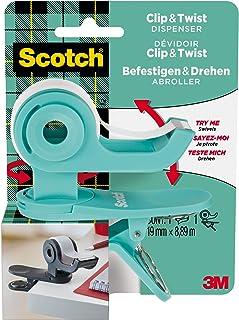 SCOTCH 90104 plakband C&T, mintgroen, 1 rol, 19 x 9,8 m