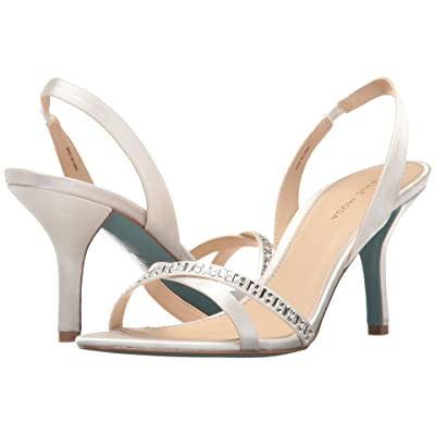 Pelle Moda Inna (White Satin) High Heels