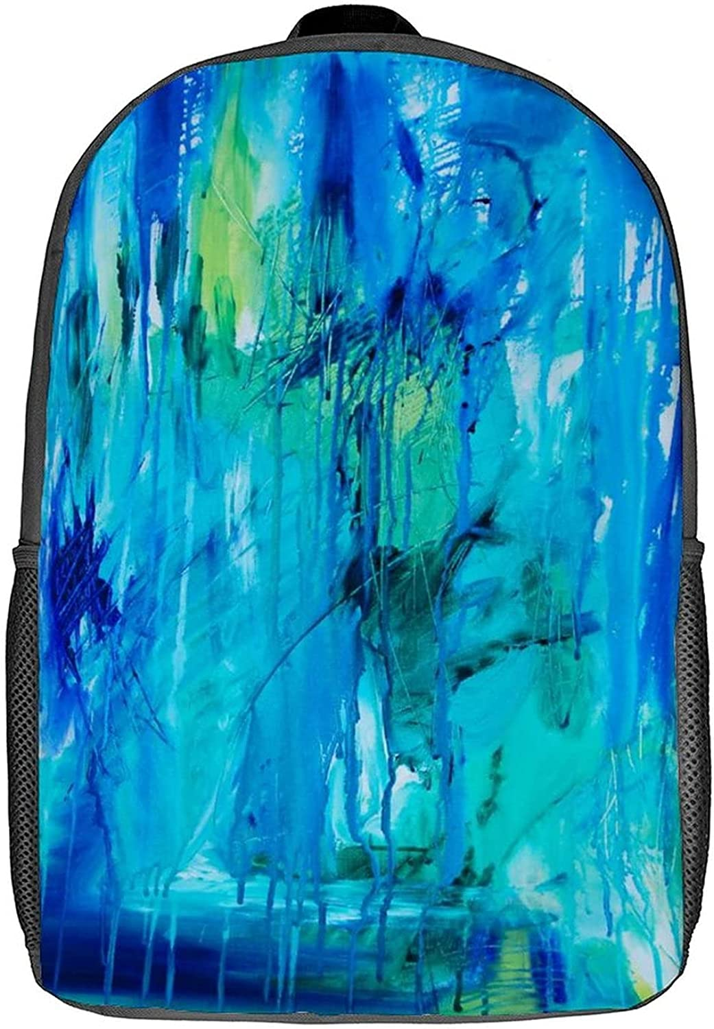 Backpack Watercolor Abstract Custom Small Ranking TOP10 Department store 17inch Laptop