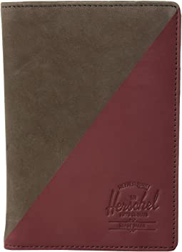 Raynor Passport Holder Leather RFID