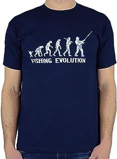621ead2e3 My Generation Gifts Fishing Evolution - Regalo divertido de la pesca del  cumpleaños/presente para