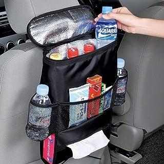 Suszian Auto Aufbewahrungstasche für Stuhlrücken, mehrere Taschen, große Kapazität, Aufbewahrungstasche für Autositz, mit Isolierung und Kühlung