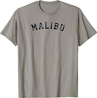 Vintage Malibu T Shirt Scrum Old Retro Sports Gift Tee 70s