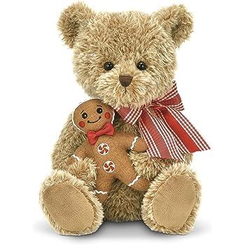 8 8 Bearington Collection SG/_B0768L1F6Q/_US Bearington Big Head Nick Christmas Plush Stuffed Animal Teddy Bear