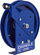 Coxreels EZ-SDL-50 Safety Series Spring Rewind Static Discharge Cord Reel: 50' cord capacity, less cable