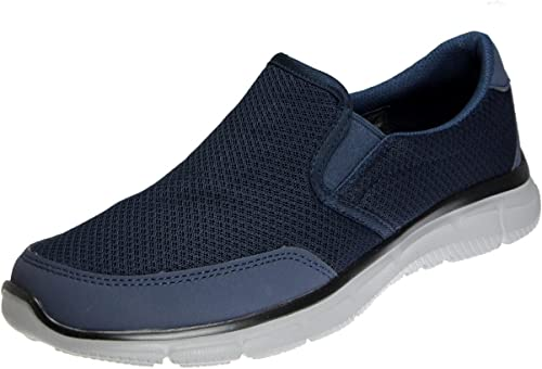 Skechers Men& 39;s Equalizer Persistent Slip-On baskets