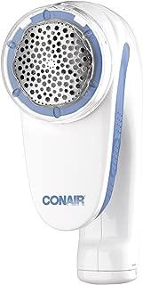 Conair Battery Operated Fabric Defuzzer - Shaver, White, Plastic, Metal, White, Regular