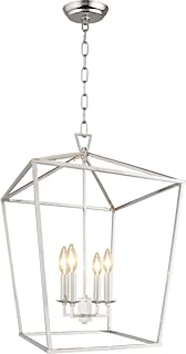 Best chrome cage chandelier Reviews