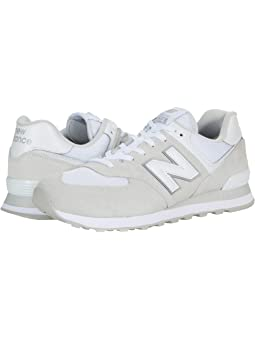 New balance mens iconic 574 sneaker FREE SHIPPING | Zappos.com
