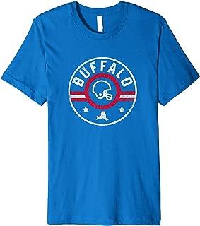 Buffalo Football Stars and Stripes New York Outline Premium T-Shirt