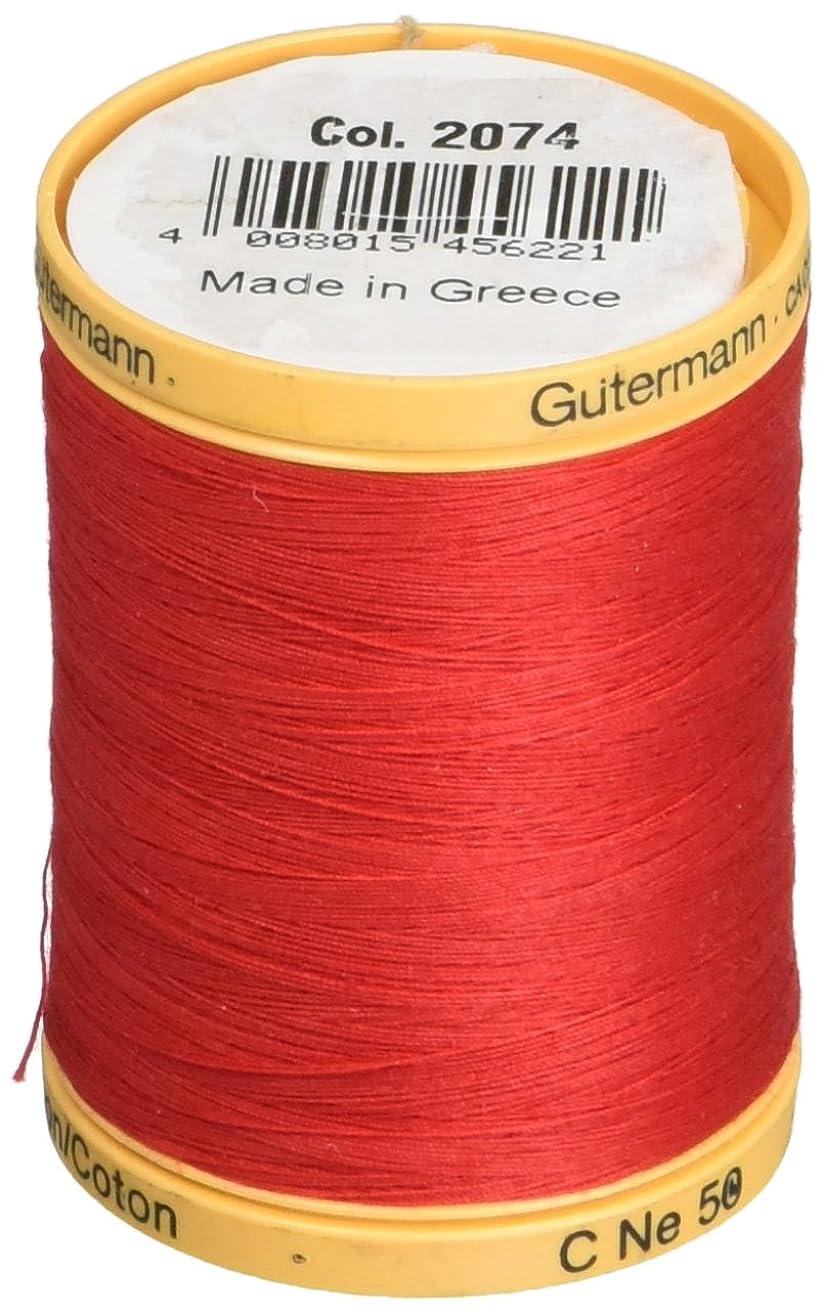 Gutermann Natural Cotton Thread Solids 876yd, Red