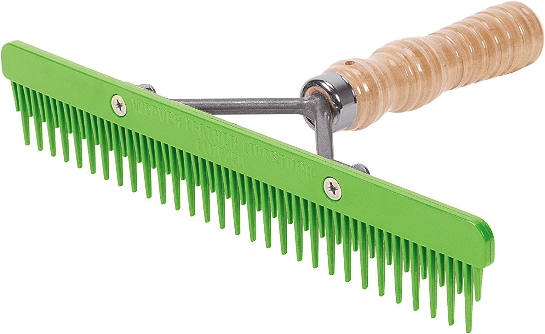 Fluffer Combina con impugnatura in legno e Lama plastica sostituibile