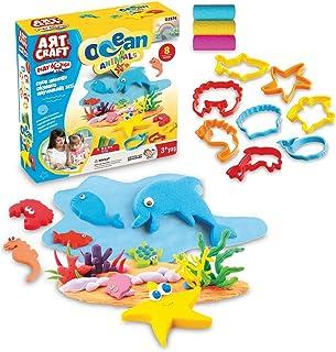 Dede Art Craft 3574 Okyanus Hayvanlar Oyun Hamuru Seti