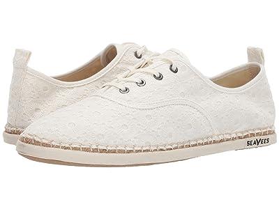 SeaVees Sorrento Sand Shoe (White Eyelet) Women