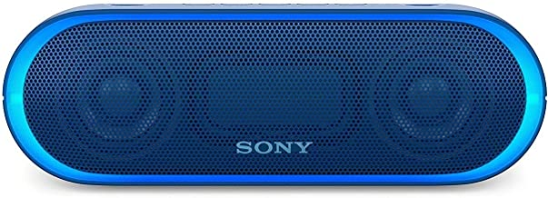 Sony XB20 Portable Wireless Speaker with Bluetooth, Blue...