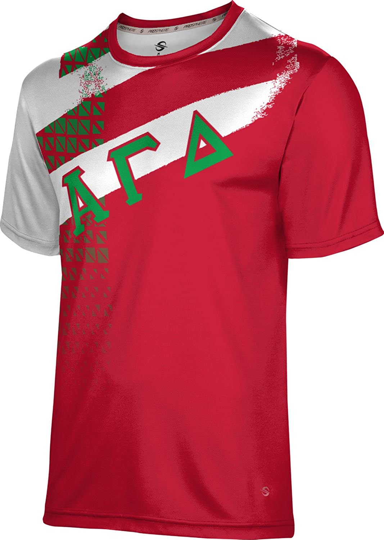 5 ☆ popular ProSphere Alpha Gamma Delta Structure T-Shirt Performance Men's Atlanta Mall