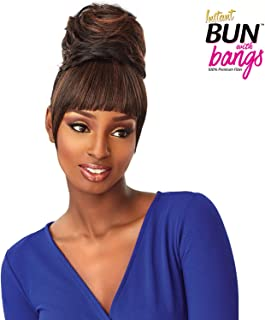 Sensationnel 100% PREMIUM SYNTHETIC HAIR INSTANT BUN WITH BANGS - ADA - 1