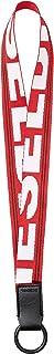 (ディーゼル) DIESEL メンズ ステッチ入り ロゴ ストラップチャーム X06243P1831