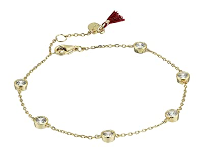 SHASHI Emily Diamond Bracelet (Gold) Bracelet