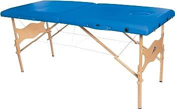 3B Scientific W60601B-1 Wood Basic Portable Massage Table, 550lbs Capacity, 25