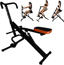 Total Crunch AB Crunch Workout Fitness Exercise Muscle Cardio Trainer Fitness Horse Riding w Monitor