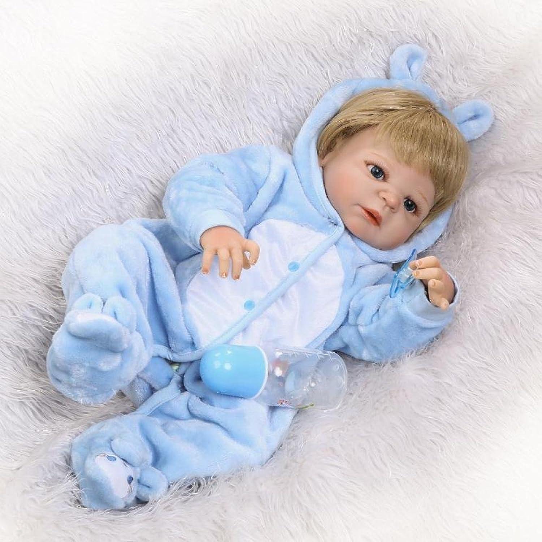 suministro directo de los fabricantes QXMEI 22 Pulgadas Pulgadas Pulgadas Baby Boy Doll Silicona Recién Nacido Bebé Regalo De Cumpleaños Maniquí 57 Cm  artículos novedosos