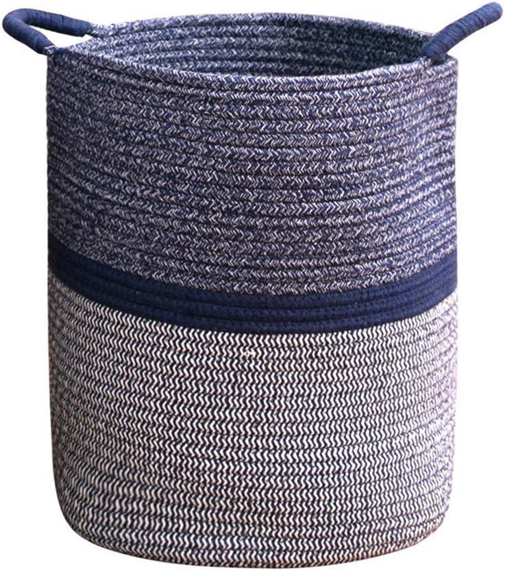 Ranking TOP10 Zel Department store Basket Woven Storage Environmentally Cotton Friendly