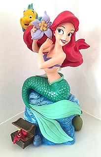 Disney Parks Ariel Little Mermaid Lovely Musical Figurine Plays Under The Sea