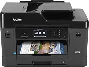 Brother MFC-J6930DW All-in-One Color Inkjet Printer, Wireless Connectivity, Duplex Printing, Amazon Dash Replenishment Enabled