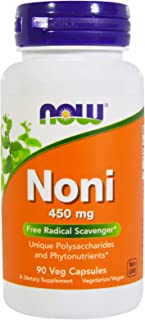 NOW Foods Noni 450 mg - 90 Veg Capsules