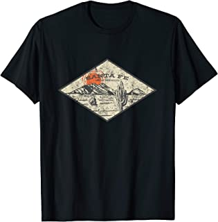 Santa Fe New Mexico T-Shirt, NM Vacation Gifts