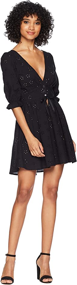 For Love and Lemons Spring Eyelet Swing Dress