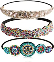 western headbands with bling