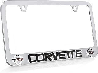 Best c4 corvette license plate frame Reviews
