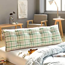 Super Comfortable Bed Head Cushion Pillow Sofa Variety Optional Double Long Pillow Bed Head Back Waist yangain (Color : B,...