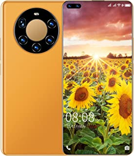 Unlocked Smartphone, 6.8'' High Definition Mobile Phone Cell Phone 5MP+8MP Camera 3200Mah Face ID + Fingerprint GPS Blueto...