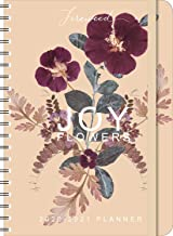 "FIREWEED 2020 - 2021 On-the-Go Weekly Planner: 17-Month Calendar with Pocket (Aug 2020 - Dec 2021, 5"" x 7"" closed): Joy Flowers"