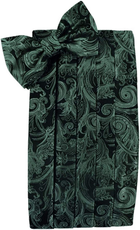 Tapestry Holly Satin Tuxedo Cummerbund and Bowtie