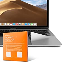 UPPERCASE Premium Palm Rest Protector Skin Cover Set for MacBook Pro Released in 2016 2017 2018 (MacBook Pro 13