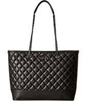 LOVE Moschino - Metallic Quilted Shopping Bag