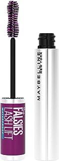 Maybelline the Falsies Lash Lift Waterproof Mascara Volumizing, Lengthening, Lifting, Curling, Multiplying, Eye Makeup, Very Black, 0.29 Fl; Oz, Black