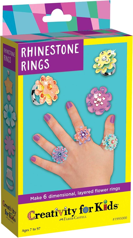 Creativity for online shopping Kids Cheap mail order shopping Rhinestone Rings Kit Mini âJewelry Making