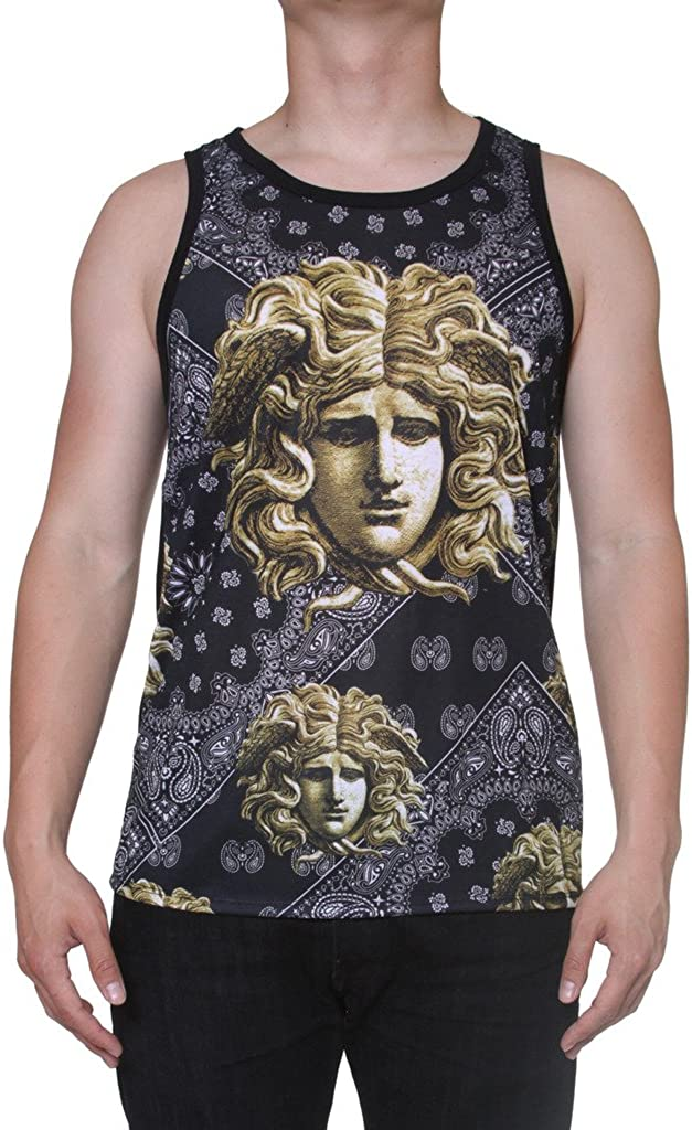 Made in USA Mens Sublimation Styles Tank Outlet ☆ Free Shipping Year-end annual account Many Top