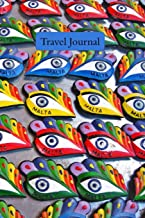 Travel Journal: Malta Cover - Handy Size Journal/Notebook  Write About Your Holiday/Adventure Trips   100 pages   White paper   Plenty of Space  Sketch Pages