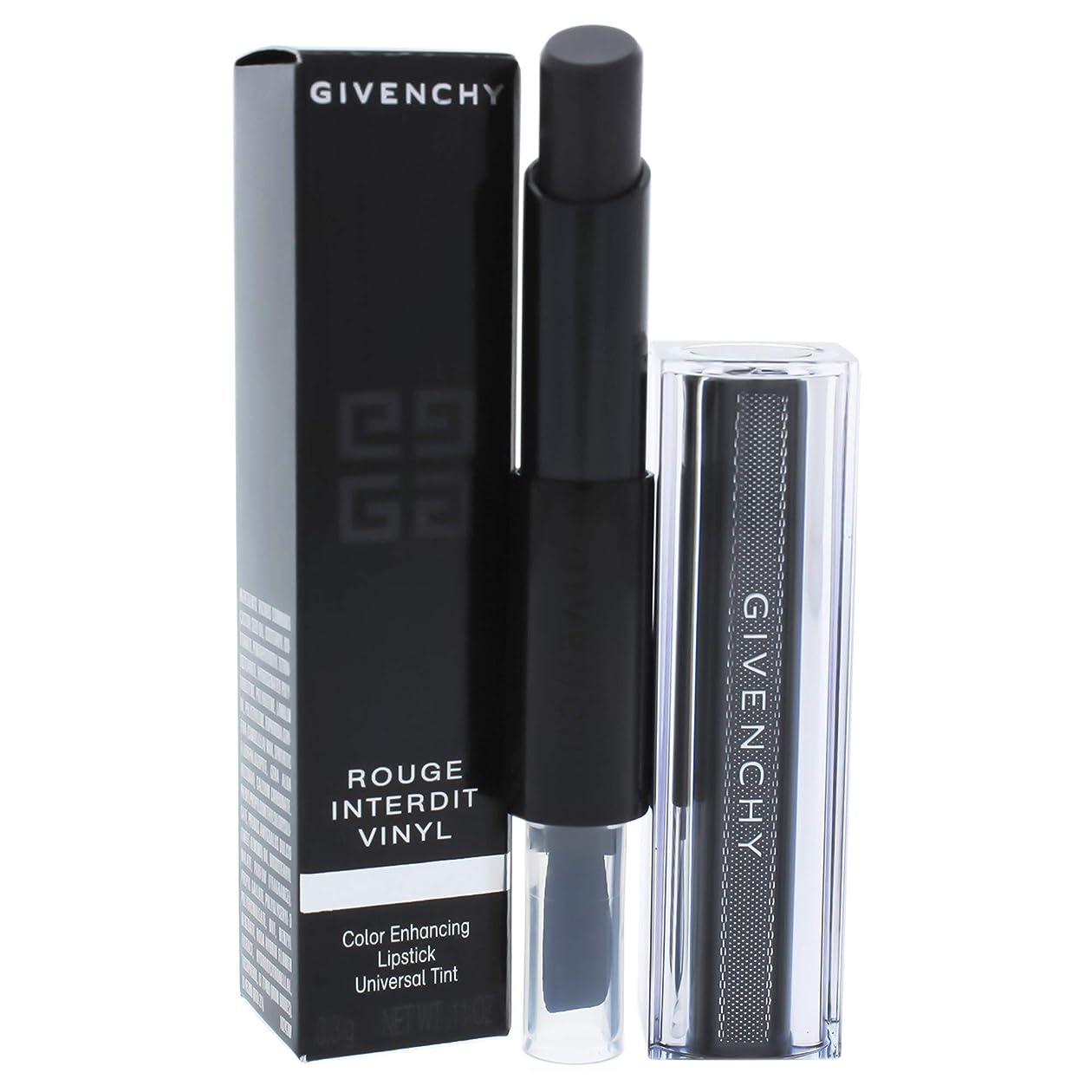 放送努力火曜日ジバンシィ Rouge Interdit Vinyl Color Enhancing Lipstick - # 16 Noir Revelateur 3.3g/0.11oz並行輸入品