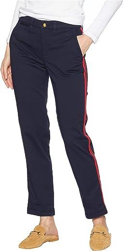 Stretch Cotton Skinny Pants