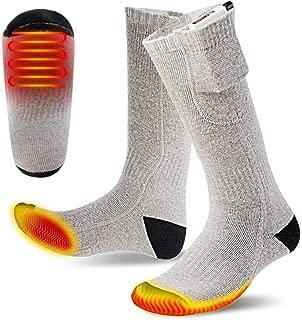 JIAJU Calcetines térmicos Calentadores de pies calientes